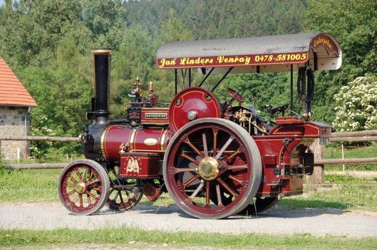 Oldtimer stoommachine Fowler