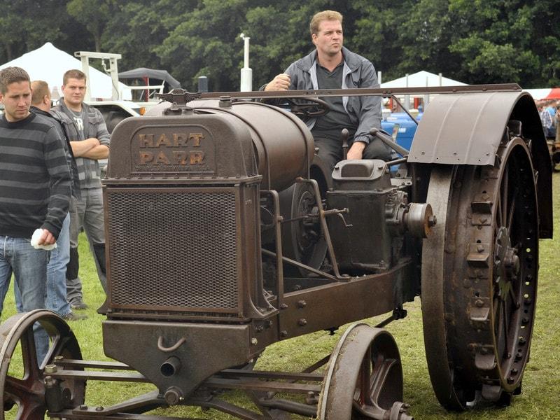 Oldtimer Tractoren IHF Panningen Hart Parr IHF