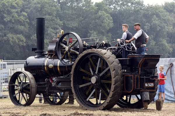 Oldtimer Tractoren IHF Panningen Stoom