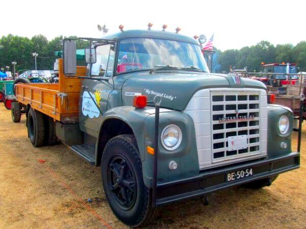 Oldtimer vrachtwagen IHF Panningen